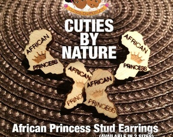 Cuties By Nature African Princess Earrings