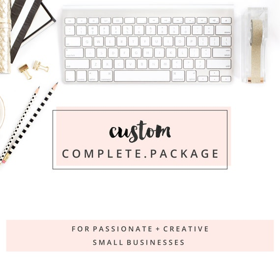 complete design package custom logo and by caseyjoandesign