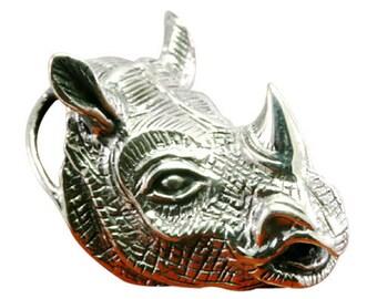 Rhino pendant 925 sterling silver