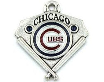 Chicago Cubs Baseball Charms