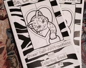 So, Life is Hard: Queer Self-Affirmations and Coloring Book, issue #2 in the GlitterWurst Series