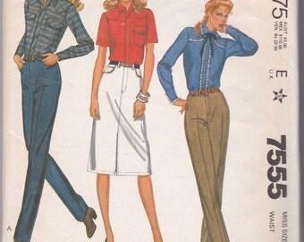 Vintage 1981 McCalls Jeans Pattern