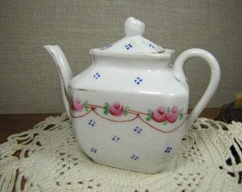 Vintage Small Porcelain Teapot