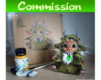 OOAK Posable Art Toy Commission