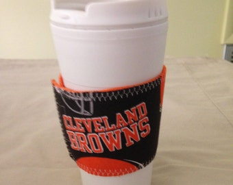 """Cleveland """"Browns"""" Insulated Mug/Cup"""