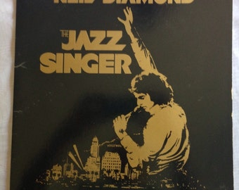 Neil Diamond The Jazz Singer Original Songs From The Motion Picture vintage vinyl record 1980