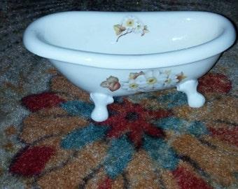 Sale 16.00! 1980s V B Athena California Bath Tub Soap Dish
