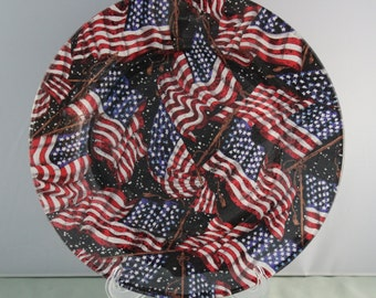 4th of July Decorative Plate