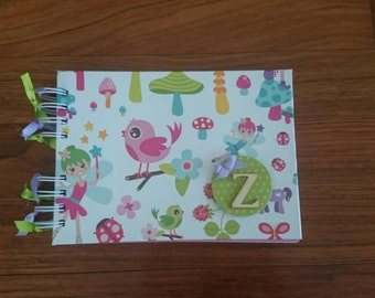 Notebook with stickers for children scrap