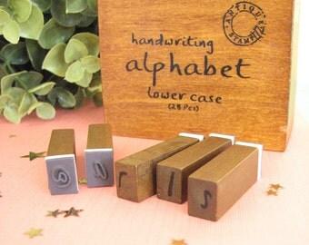 Alphabet Stamp Set - Lower Case