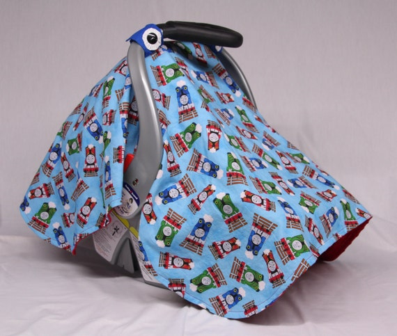 thomas the train and friends baby car seat canopy baby shower. Black Bedroom Furniture Sets. Home Design Ideas
