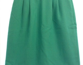 Vintage high-waisted skirt