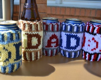 Just for Dad! Can and Bottle Insulator/Coaster