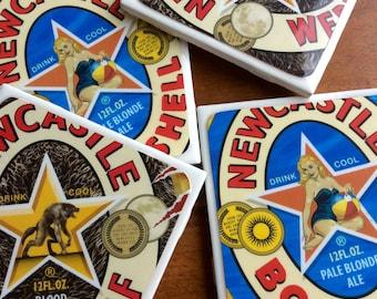 Newcastle Beer Coasters