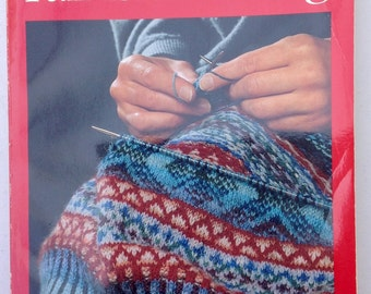 Alice Starmores's Book of Fair Isle Knitting, Softcover Edition, Taunton Press, 2nd Printing 1990