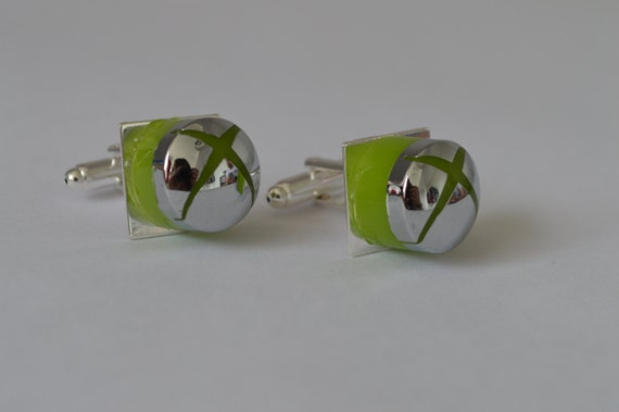 Xbox 360 Recycled Button Cufflinks
