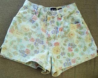 Vintage High Waisted Shorts, High Waist Shorts, Denim Shorts, Jean Shorts