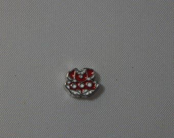 Minnie Mouse Dress Floating Charm
