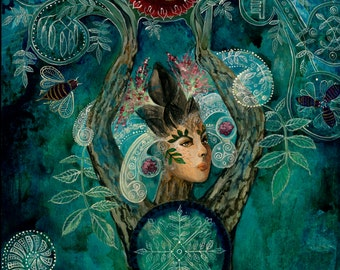 Ash Tree Spirit,  Goddess,  Lady