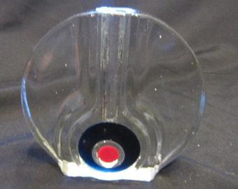 Vintage Mid Century Walther Solifleur West German Art Glass Vase