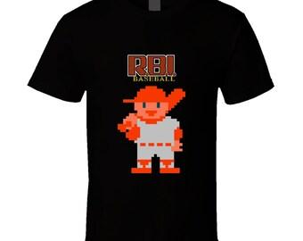 Rbi Baseball Retro Nes T Shirt