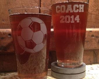 Soccer, Soccer coach gift, Soccer Mom, Soccer ball, soccer coach gift, Personalized glass, Soccer gift, Soccerball, Baseball, Coaches gift,