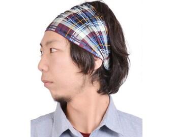 2 Color Design Cotton Headband JAPANESE Bandana Hat DESIGN Men Women Light Weight Summer Head Wear Hair Band 12th-cbt09