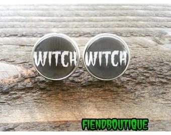 Witch Stud Earrings