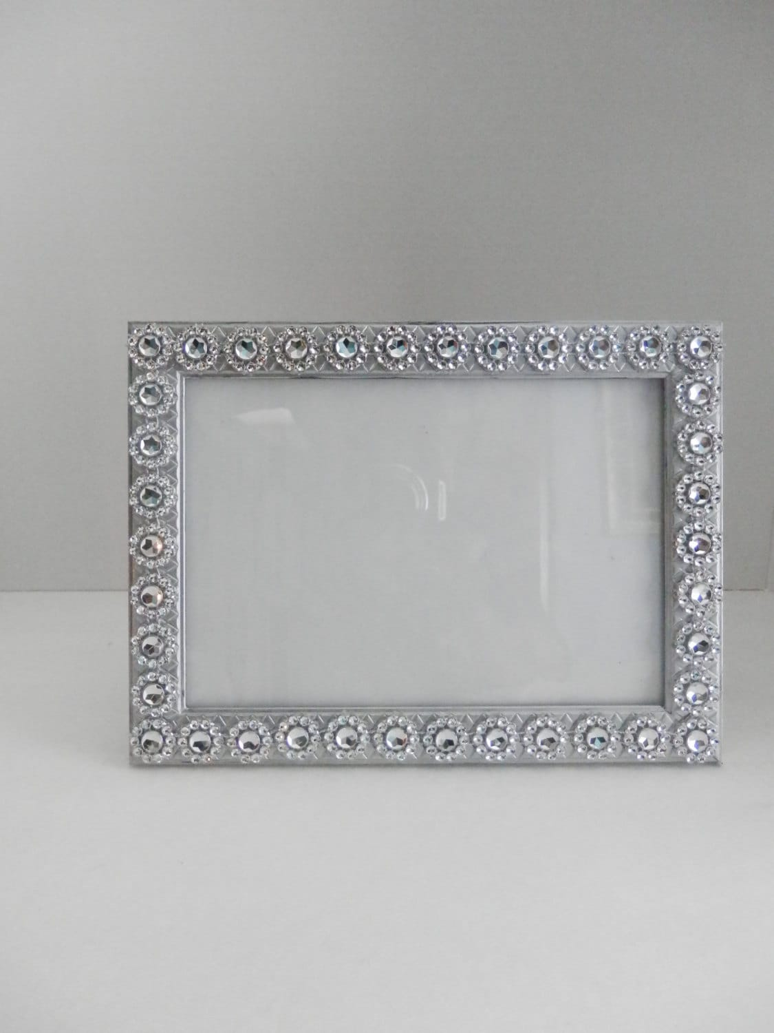 wedding picture frame 5x7 silver wedding glass picture. Black Bedroom Furniture Sets. Home Design Ideas
