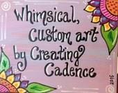 Custom Made Painting 11x14