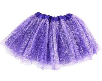 Purple Glitter Tutu