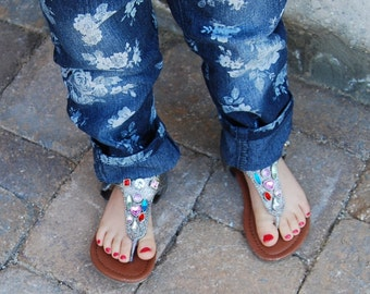 Foral Jeans