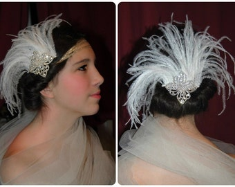 Superb bridal fascinator