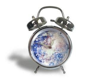 Blue Radial - Retro Alarm Clock