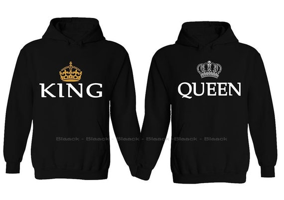 couple hoodie king queen matching love hoodie. Black Bedroom Furniture Sets. Home Design Ideas