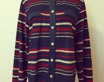 SALE (was 20.00) Vtg Alfred Dunner Striped Sweater