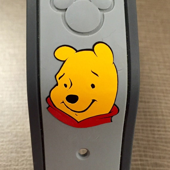 Winnie The Pooh Magic Band Vinyl Decal - Magic band vinyl decals
