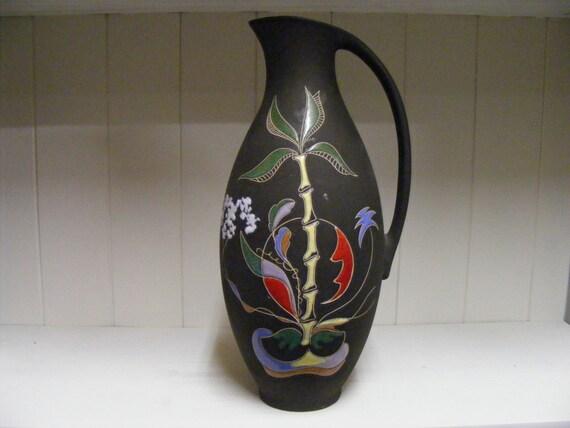 Items similar to keto keramik vase with bali decor on etsy for Bali decoration accessories