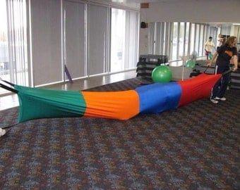 Lycra Sensory & Compression Tunnel, kid's play tunnel, 12 or 18 feet long