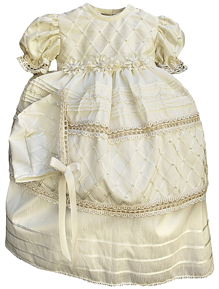 Vintage Christening Gown For Girl Baptism Dress G001 By
