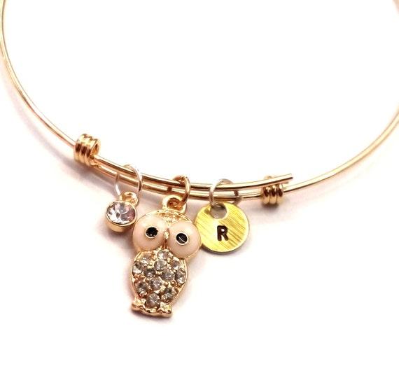 21st 18th 16th Birthday Initial Bracelet Jewelry