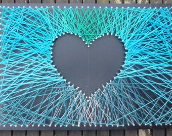Mini Heart Strings Turquoise
