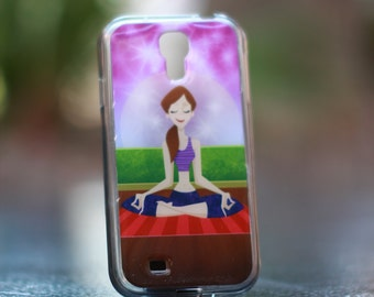 Lady  Yoga   Samsung Galaxy S4  TPU Case/Cover
