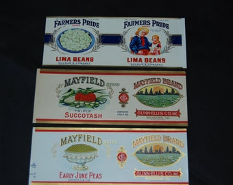 Vintage Canning Labels