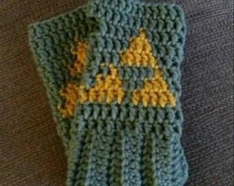 Link's Gloves Arm Warmers Legend of Zelda Costume Cosplay