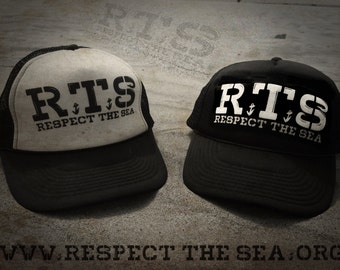 "RTS - ""Respect The Sea"" trucker hat"