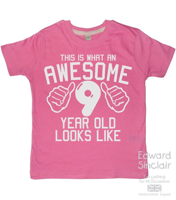 This is what an awesome 9 year old looks like girls 9th This guy has an awesome girlfriend shirt