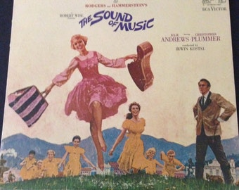 1965 Vintage Sound of Music Original Soundtrack with 8-page booklet