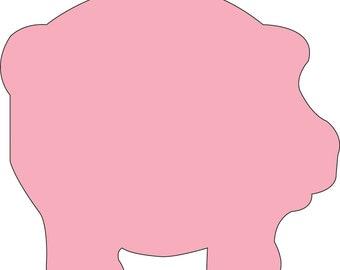Pig Sticky Notepad