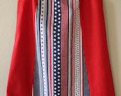 Stars & Stripes Dress - 4th of July dress, girl dress, patriotic dress, red white and blue dress, little girl stars and stripes dress,